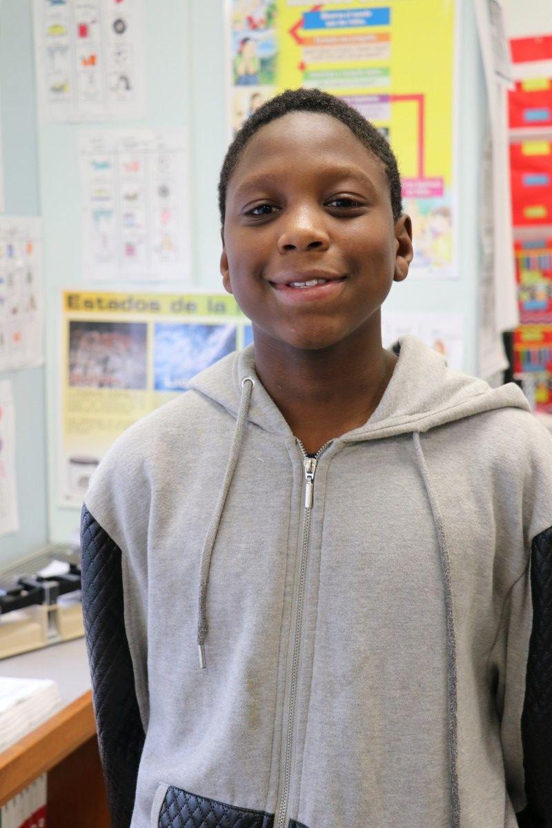 Darryl Jackson, 7th grade