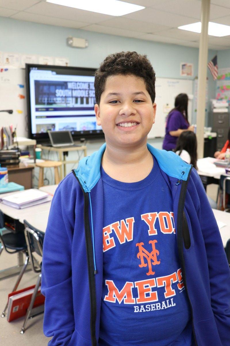 Noah Medina, 8th grade
