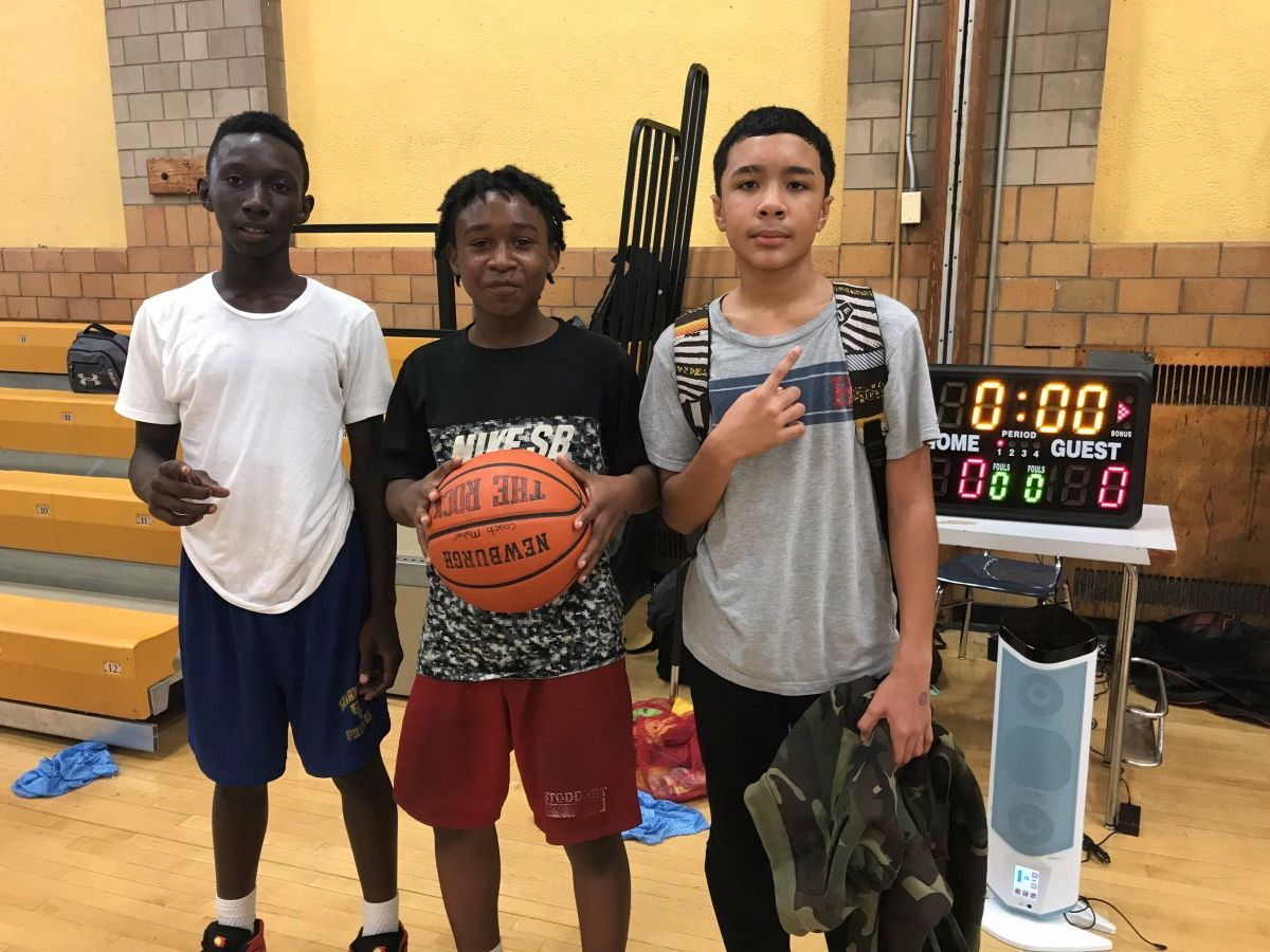 Zaymir P., Bashir M. & Aiden B. 7th team who won 7th & 8th group.