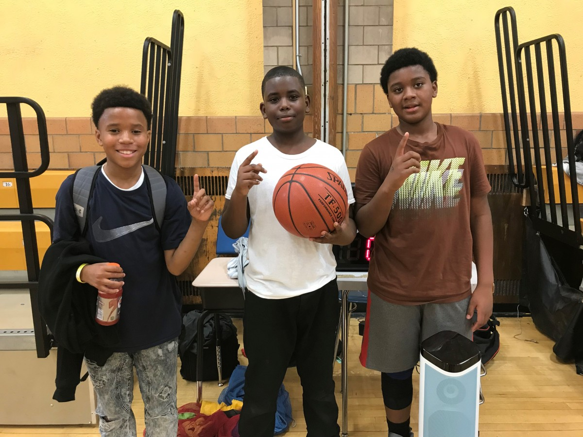 Xavier S., Nasean M., & Fabian R. -6th winning team