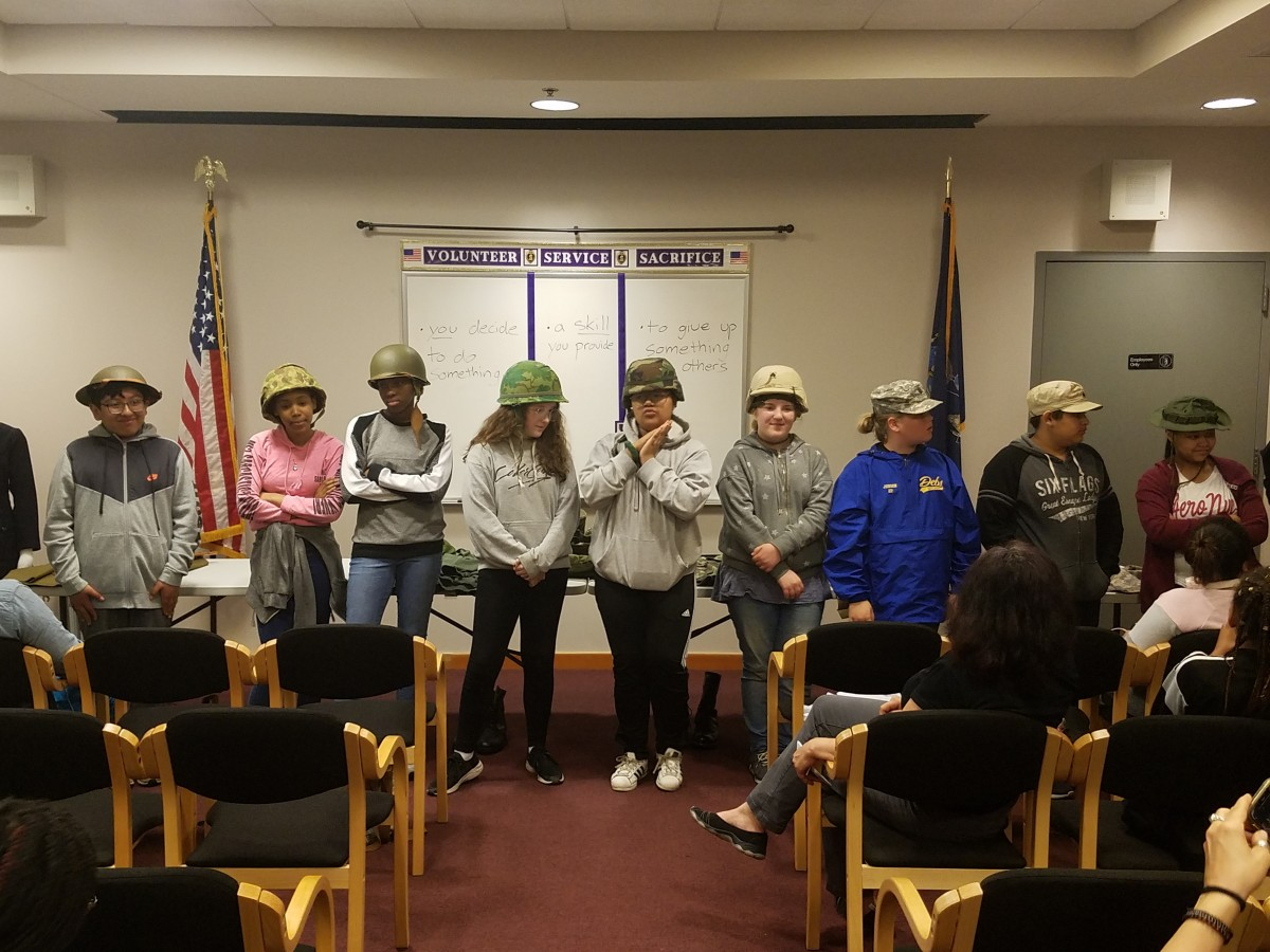 Thumbnail for South Middle School 7th Graders Visit Purple Heart Museum and New Windsor Cantonment