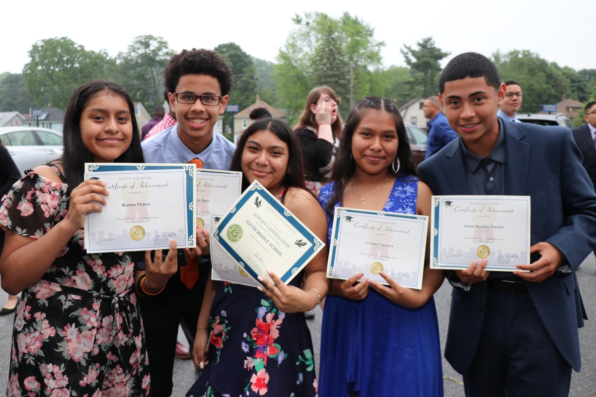 Thumbnail for South Middle School Celebrates 8th Graders Moving to High School