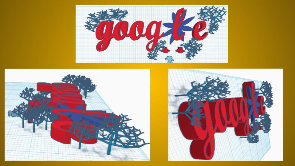 Doodle for Google design made by a student.