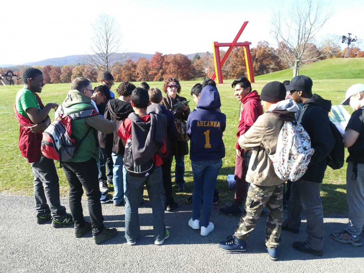 Thumbnail for South Middle School Scholars Visit Storm King Art Center