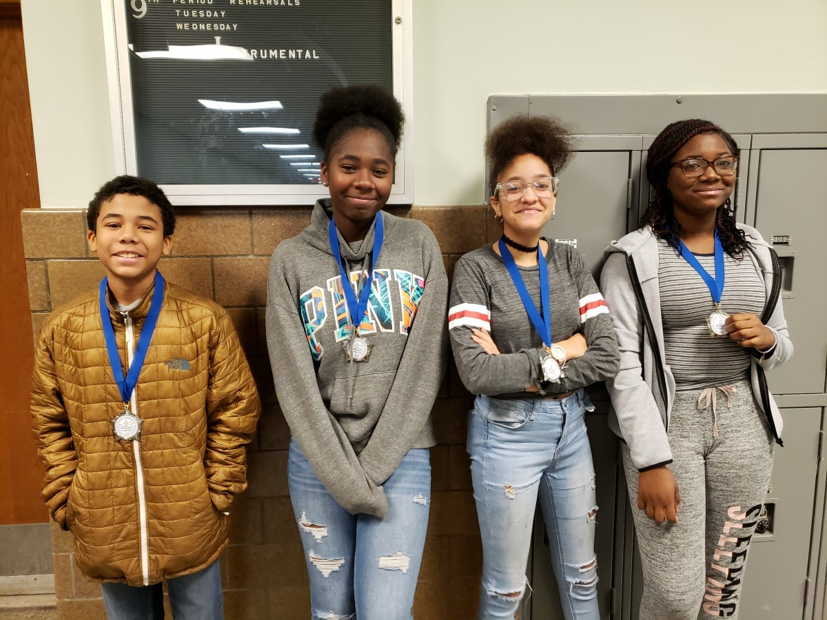 Thumbnail for Four South Middle School Scholars honored with Sojourner Truth Award at SUNY Orange