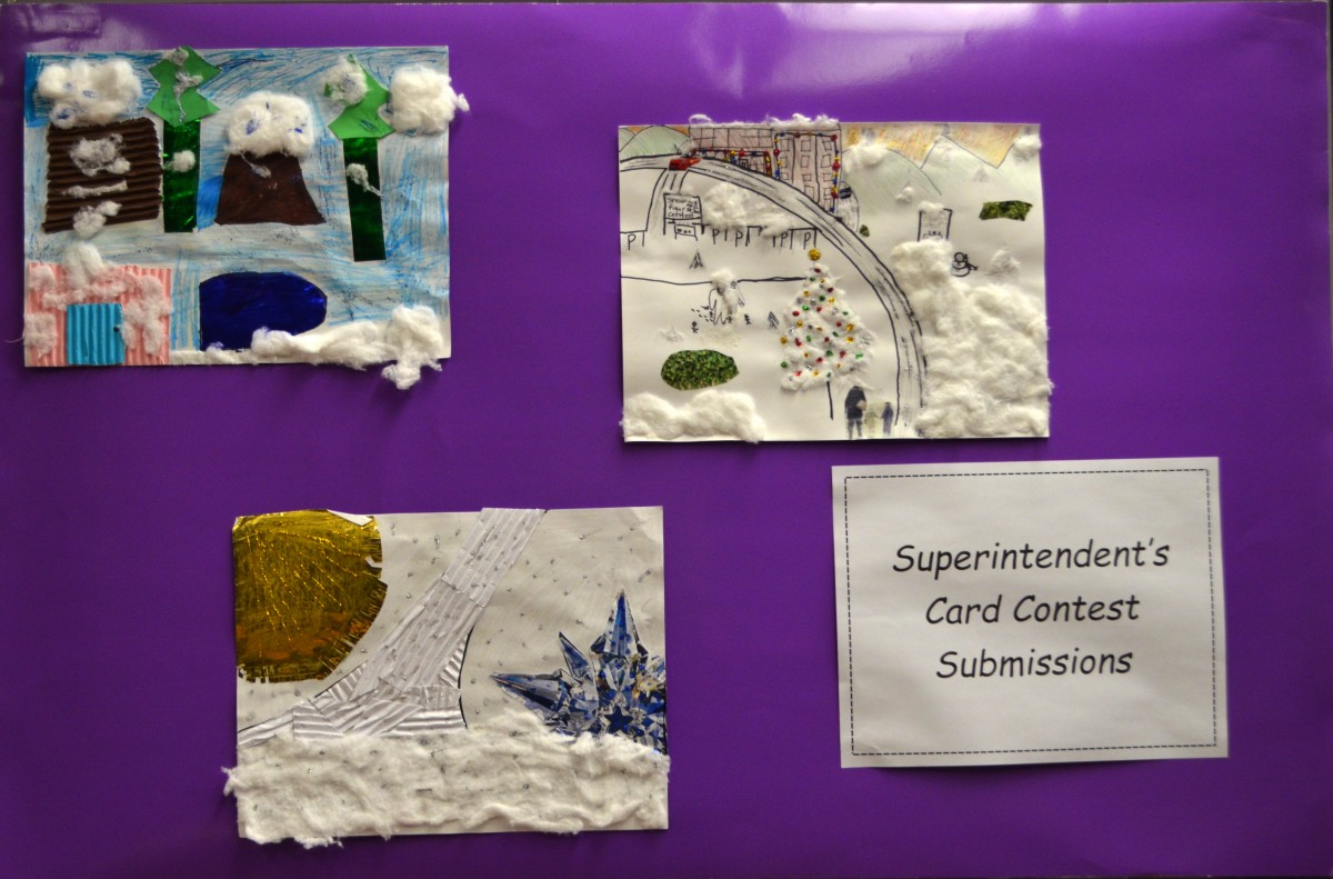 Superintendent Card Contest