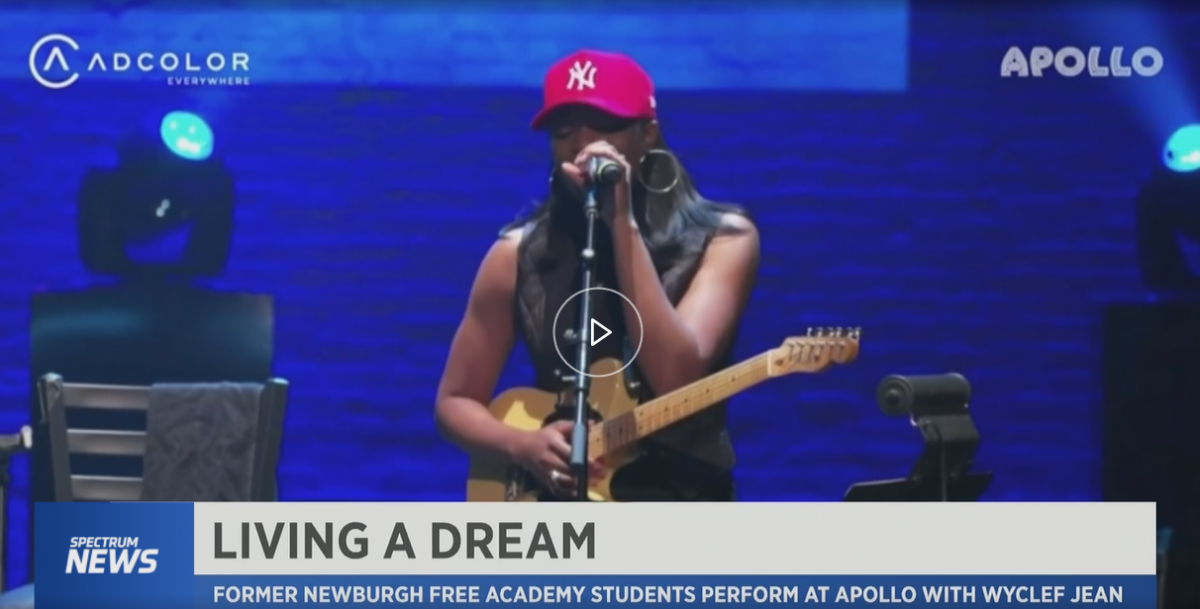 Thumbnail for Newburgh Free Academy Graduates Perform at Apollo Season Opener with Wyclef Jean!