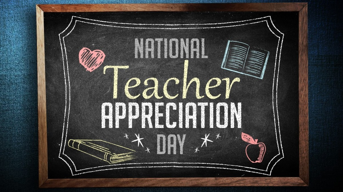 Thumbnail for Today is National Teacher Appreciation Day!