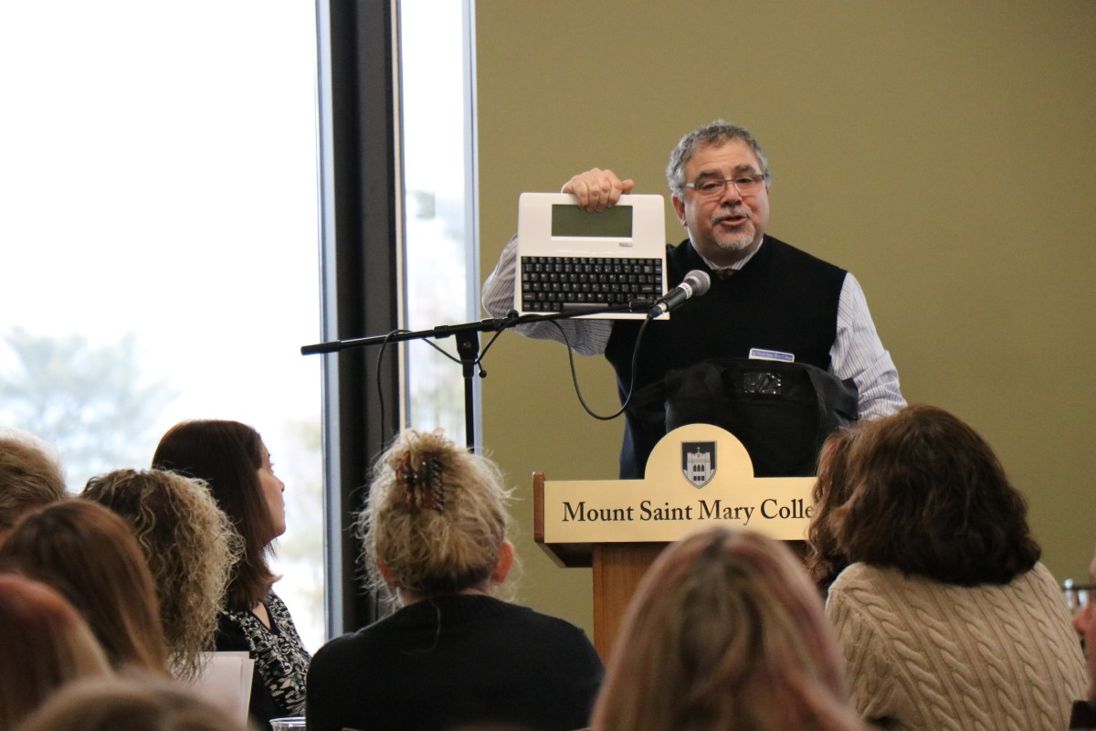 Thumbnail for Interim Director of Technology Serves as Keynote Speaker at MSMC Conference
