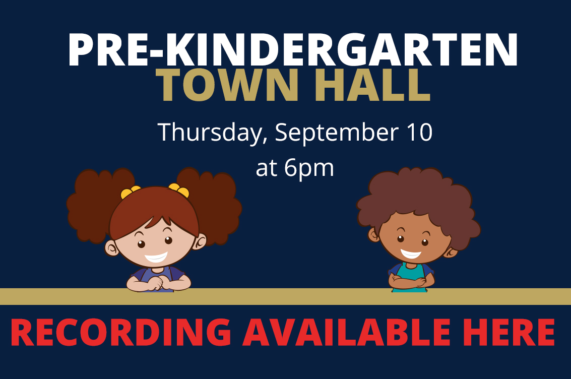 Thumbnail for Pre-Kindergarten Town Hall Recording Available Now