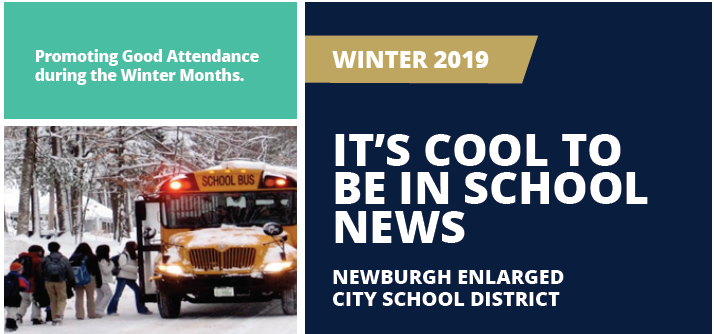 Thumbnail for It's Cool To Be In School - Winter 2019 Attendance Newsletter