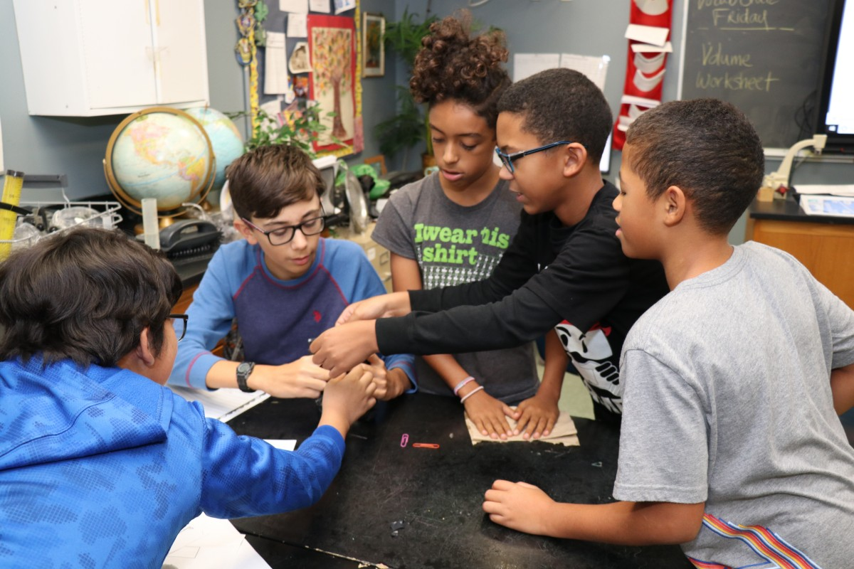 Thumbnail for Heritage Middle School Scholars Act as Community Scientists for Research Project