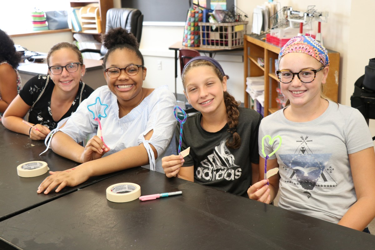 Thumbnail for Heritage Middle School Welcomes New 6th Grade Scholars