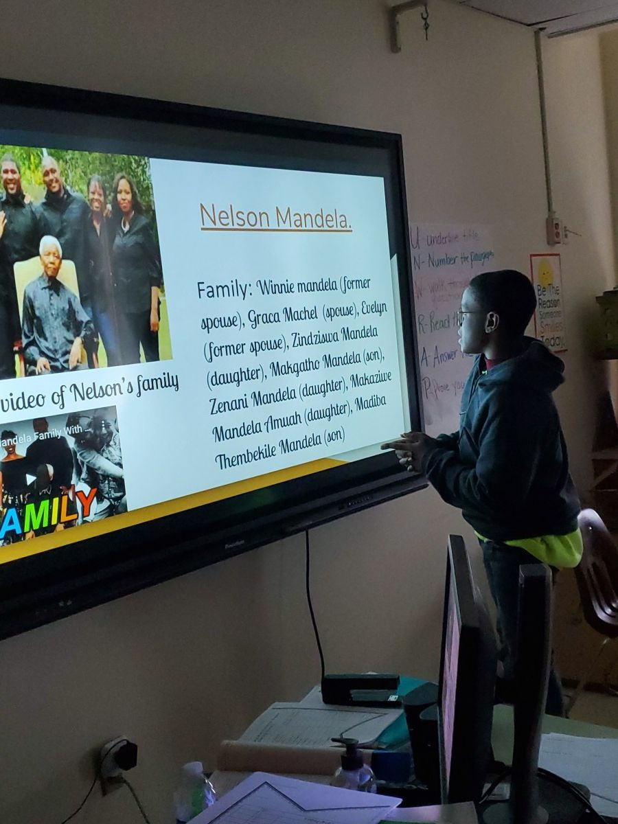 Thumbnail for Heritage Middle School Scholars create Black History Posters Using Google Slides