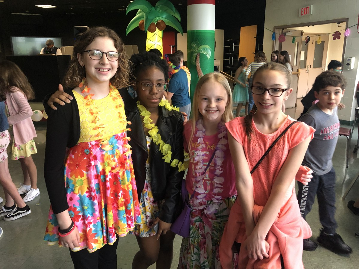 Thumbnail for Heritage Middle School Hosts Spring Luau Dance