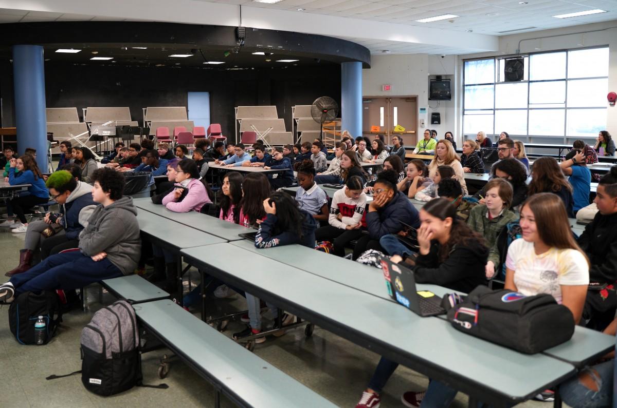 Students learning virtually with NASA via Zoonverse.