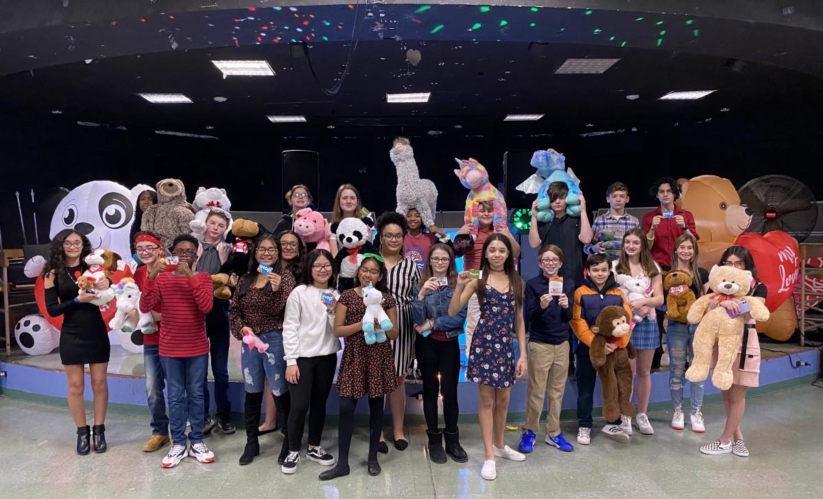 Participants pose for a photo.