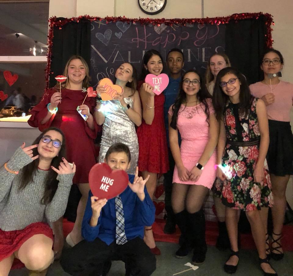 Thumbnail for Heritage Students Host Valentine's Day Dance!