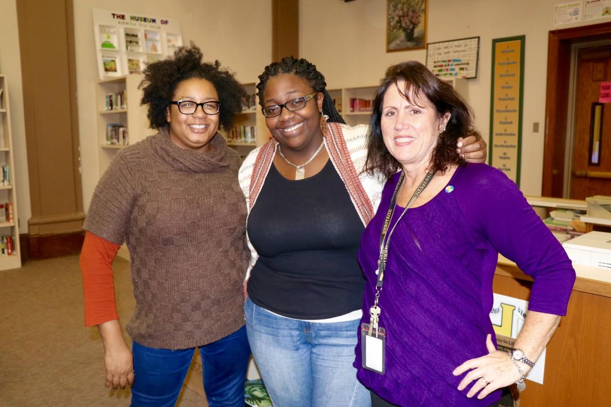 NFA Alumni poses with former advisors