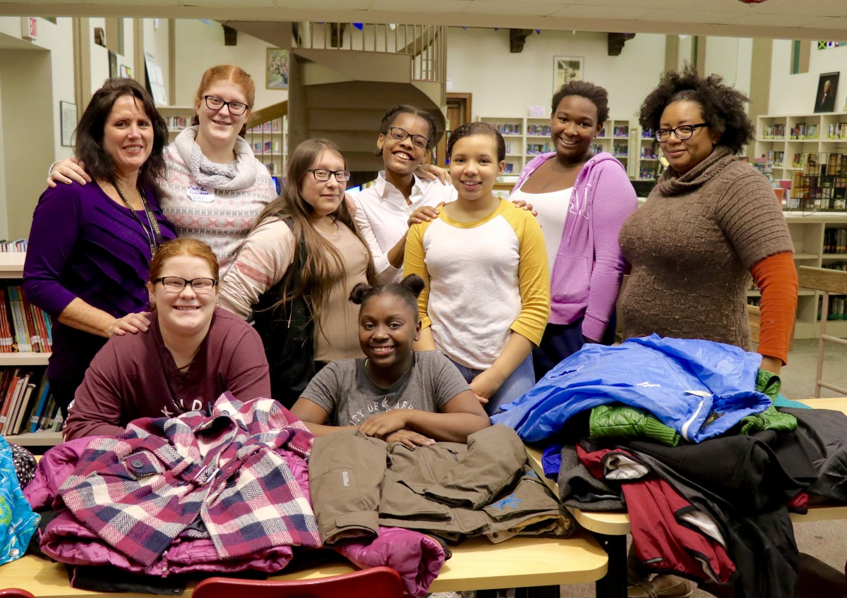 Thumbnail for Girls to Ladies coordinate coat drives in Heritage and NFA North