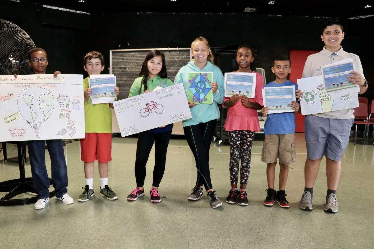 Thumbnail for 6th grader Angelo Reade Wins NYS Senator Larkin Poster Contest!