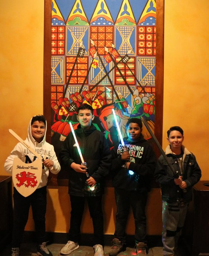 Thumbnail for Heritage Middle School Students Travel Through Time at Medieval Times