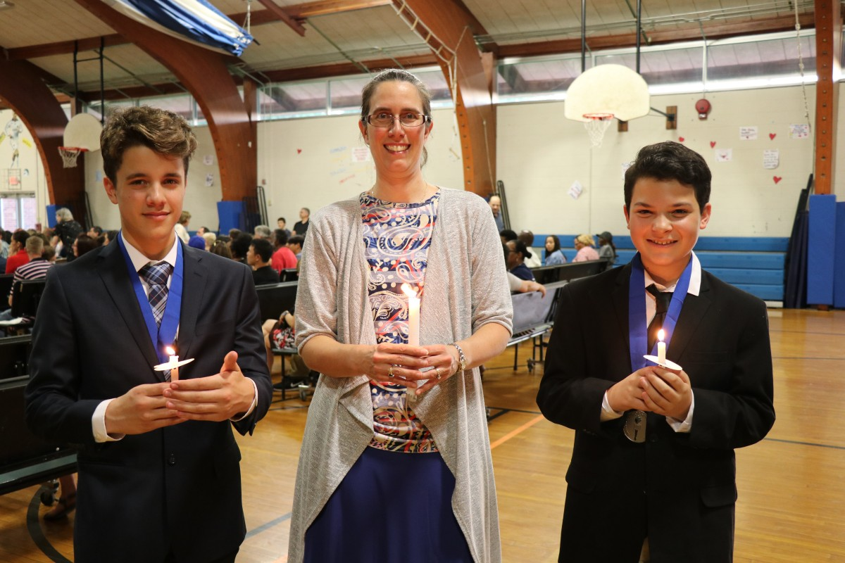 Thumbnail for Heritage Middle School Celebrates National Junior Honor Society Induction Ceremony