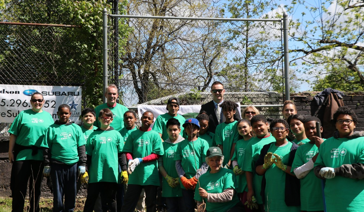 Thumbnail for Horizons-on-the-Hudson Students Plant 12 Trees Donated by Mid Hudson Subaru in Honor of Earth Day 2019