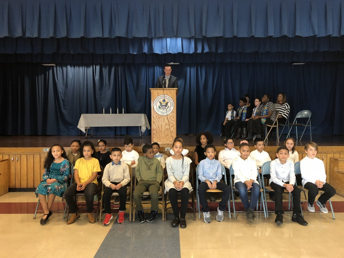 Thumbnail for Horizons-on-the-Hudson Inducts 18 to National Elementary Honor Society