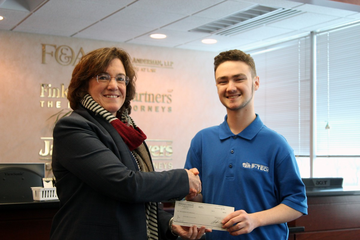 Thumbnail for NFA Student Receives Donation from Local Law Office for Global to Local Trip
