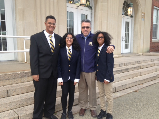 NFA Debate team members from NFA North