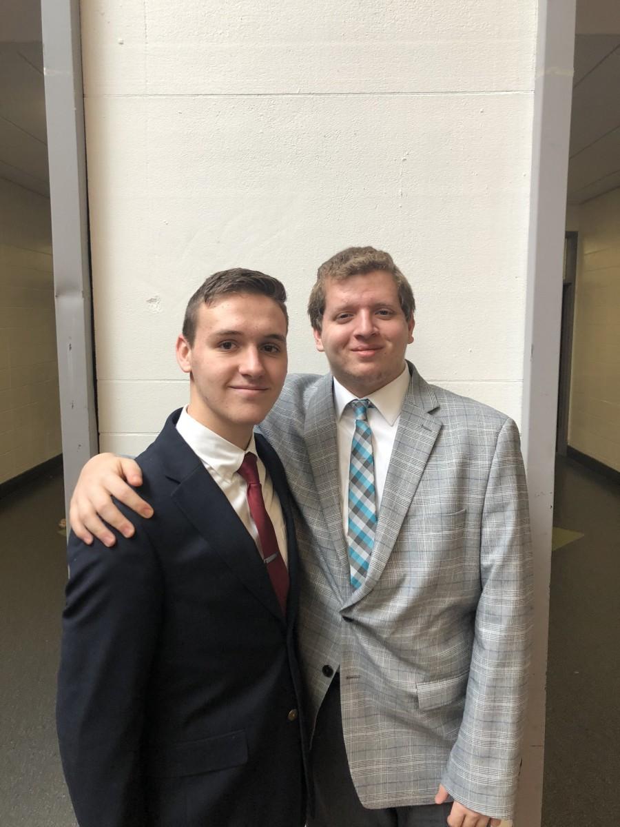 Members of the NFA Debate Team pose for a photo.