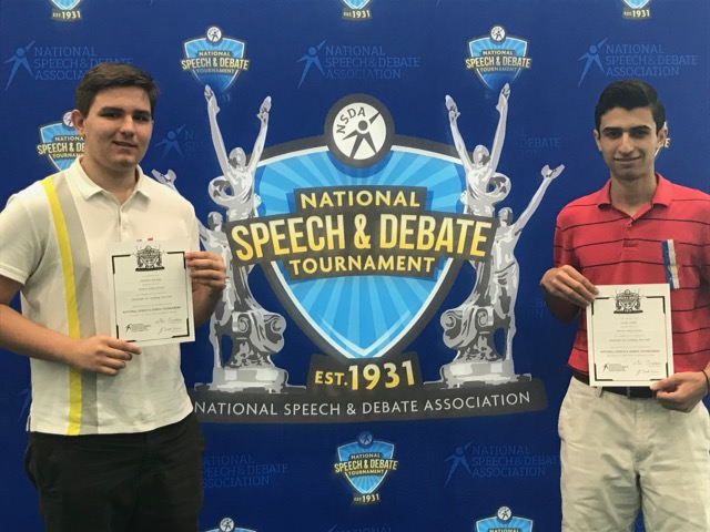 Thumbnail for Two NFA Scholars Represent Newburgh at the National Speech & Debate Tournament
