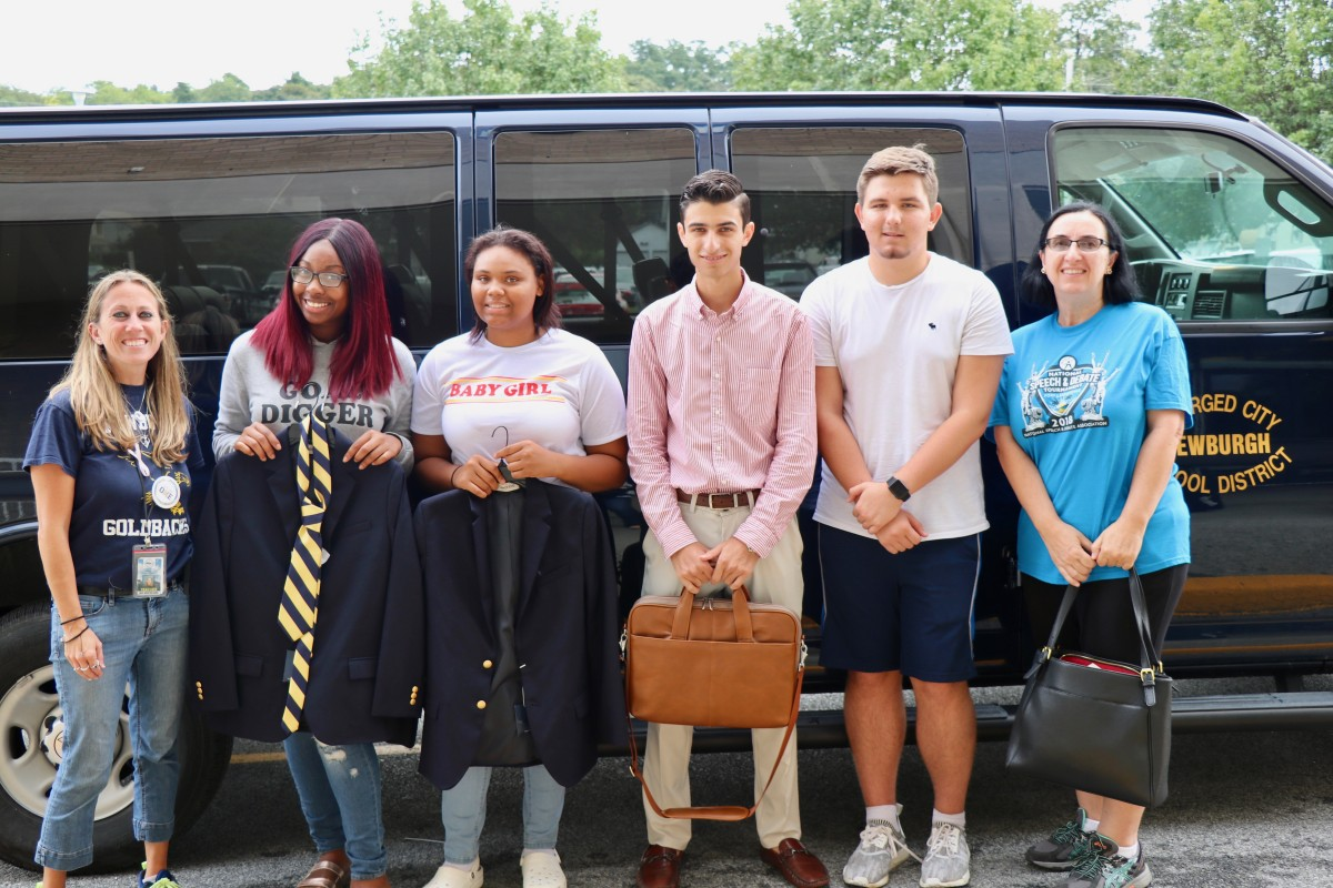 Thumbnail for Newburgh Debate Team Travels to Yale to Compete