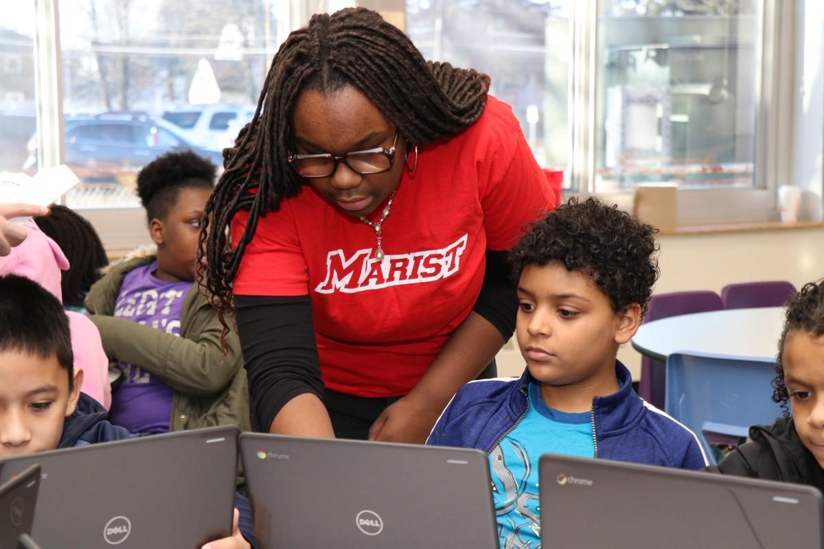 Thumbnail for NFA Main Scholars Teach Elementary Scholars to Code