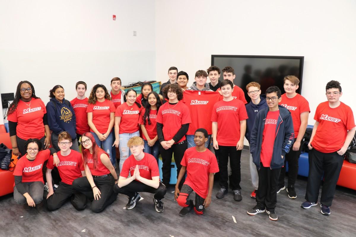 Photo of NECSD Marist ECHS cohort 2.