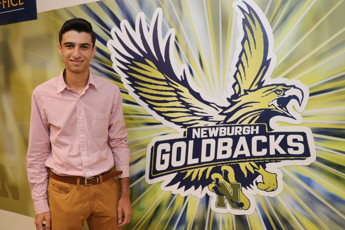 George Eliadis, National Merit Scholarship semi-finalist