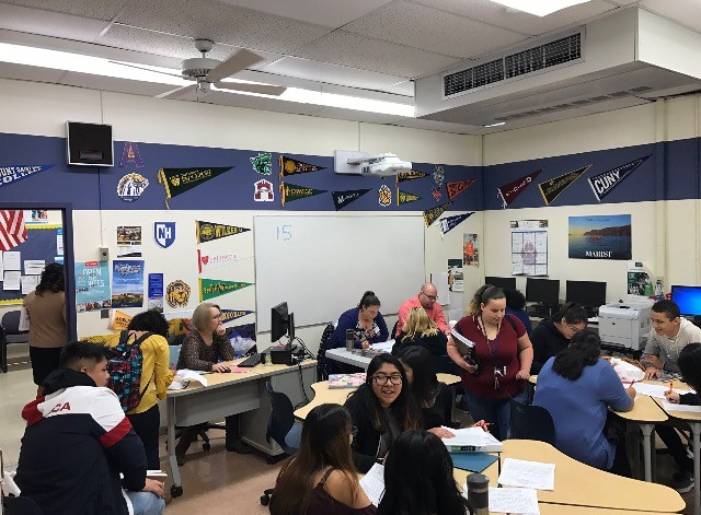 Students apply to college
