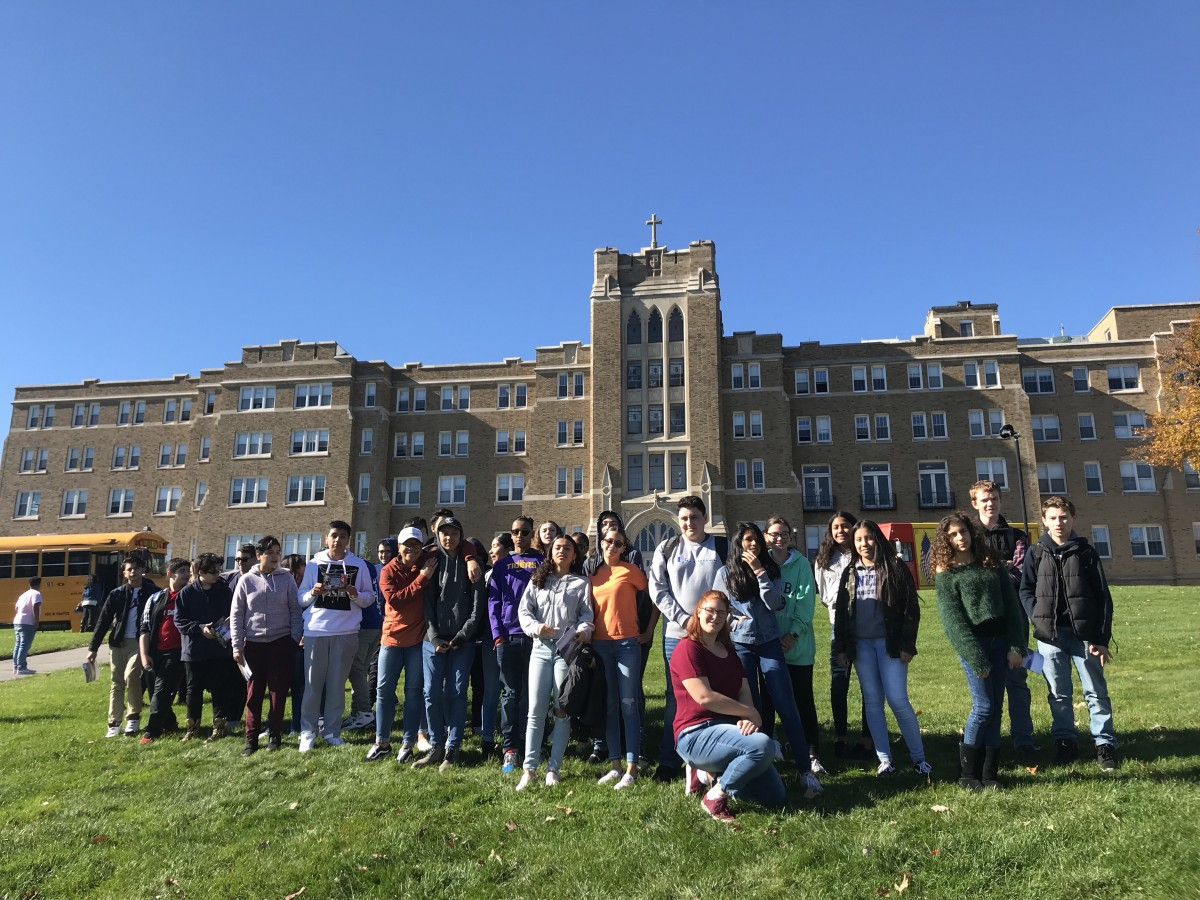 Thumbnail for Ninth Scholars from NFA North Campus Visit Mount Saint Mary Campus