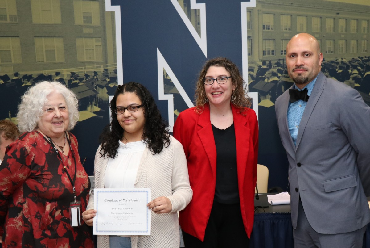 Thumbnail for NFA North Student Science Researcher Recognized for Research