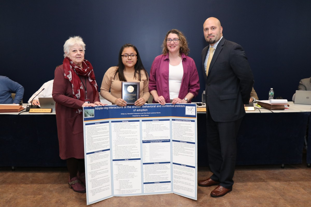 Thumbnail for NFA North Scholar Receives Plaque for Third Place Finish in Research Competition
