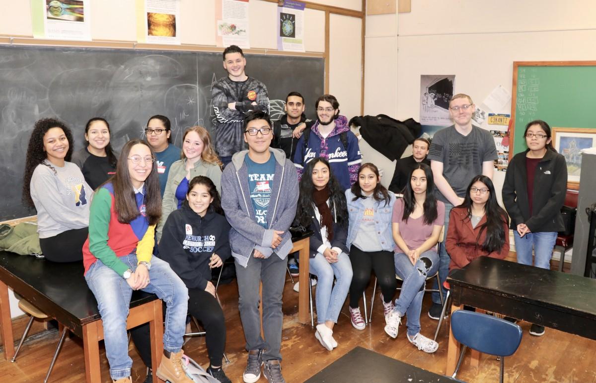 Mr. Keane's class
