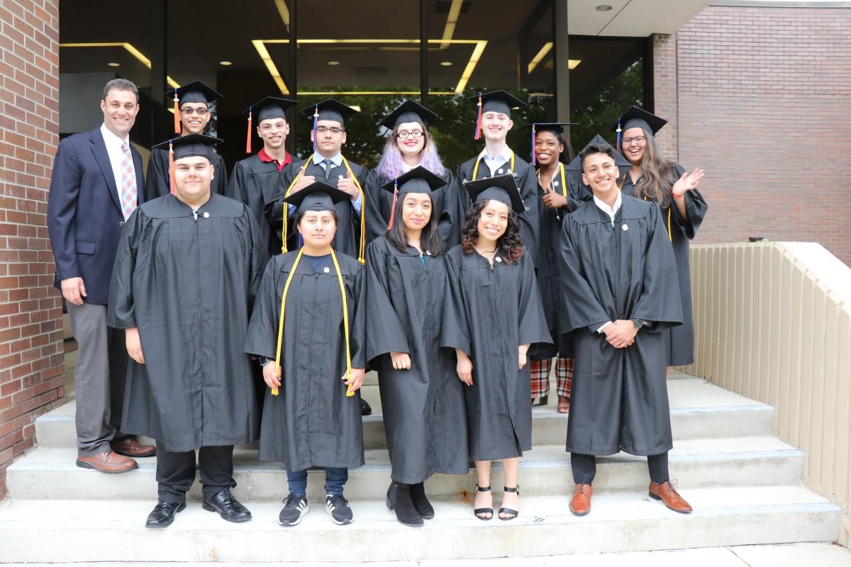 Thumbnail for Newburgh Free Academy P-TECH Celebrates Twelve More 'Double Grads'