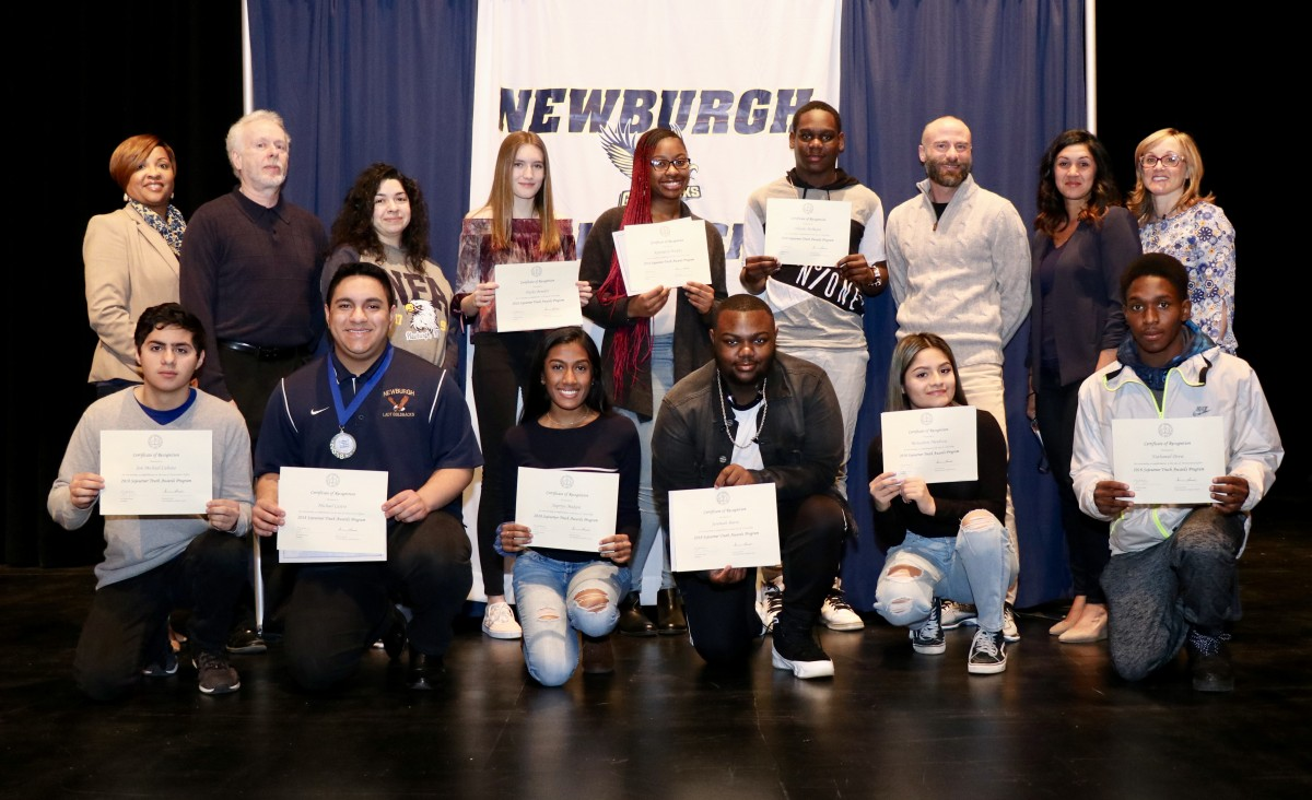 Thumbnail for Newburgh Free Academy, Main Campus Honors 2018 Student Sojourner Truth Award Recipients