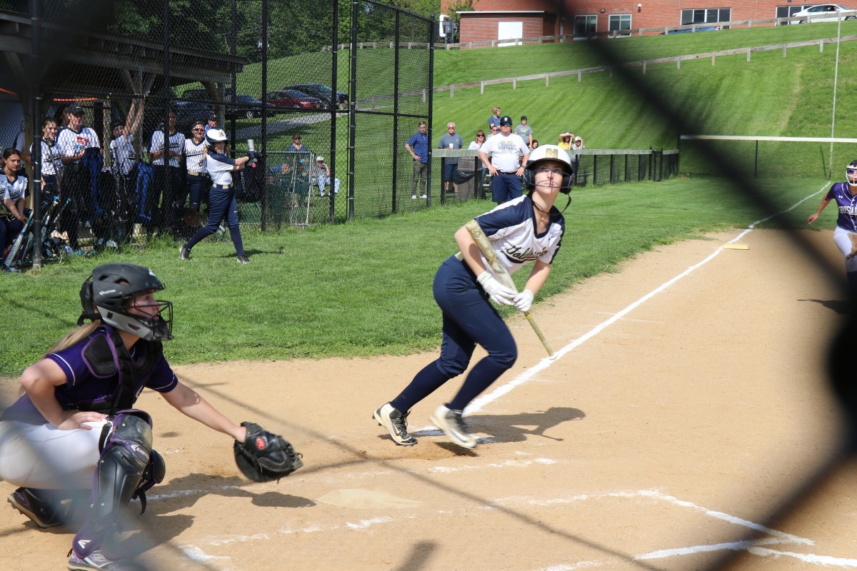NFA player batting.