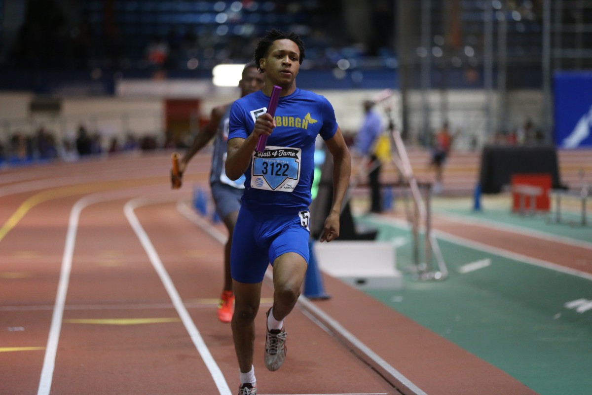 Brendon Hanson: 4X400m relay  (the fastest in the nation for varsity this year)