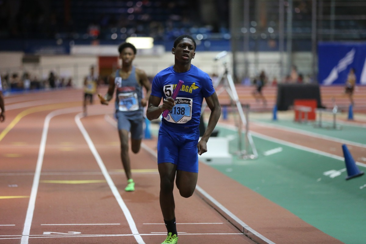 David Slater: 4X400m relay  (the fastest in the nation for varsity this year)