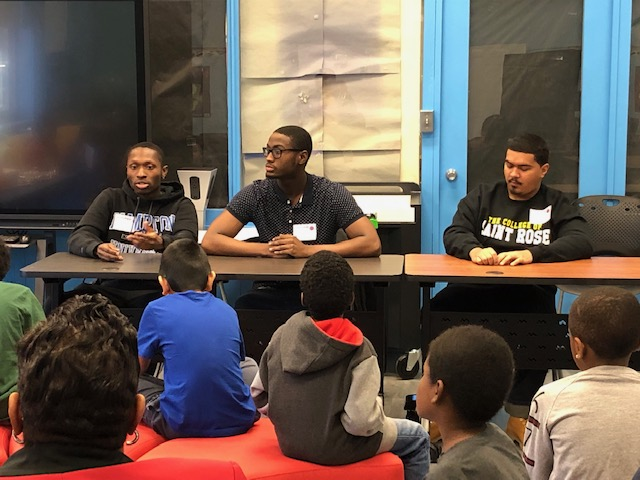 Thumbnail for Recent NFA Alumni Discuss College with Vails Gate Scholars