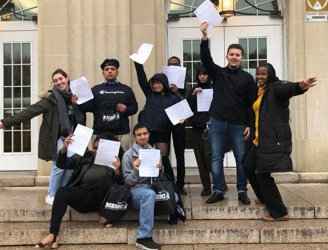 Thumbnail for NFA West Scholars Attend Instant Admission Event - All Were Accepted!