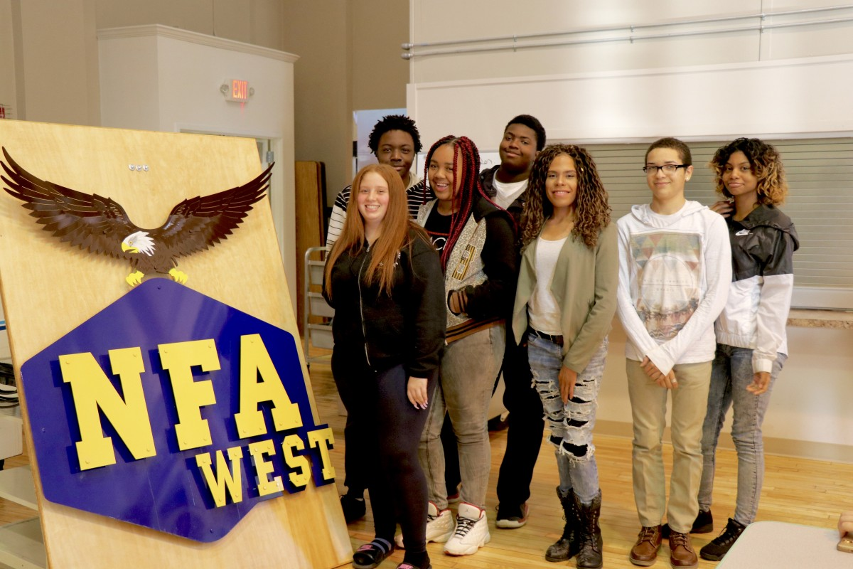 Thumbnail for NFA West Hear from Inspirational Speaker, written by NFA West scholar Madison Jasso